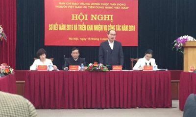 70% dân số ở nông thôn chủ yếu tiêu dùng hàng Việt Nam
