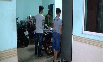 Bắt băng trộm nhí gây ra hàng loạt vụ trộm xe máy