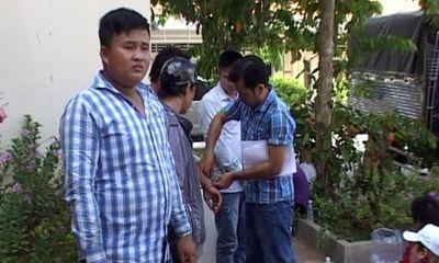 Vợ chồng thương lái thuê giang hồ mang theo hung khí thanh toán nhóm bảo kê