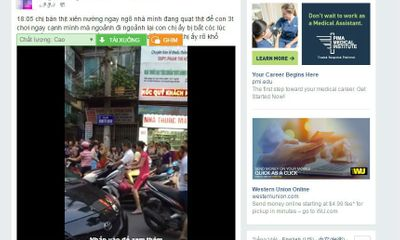 Hà Nội: Sự thật về thông tin bắt cóc trẻ em trên phố Hàm Tử Quan