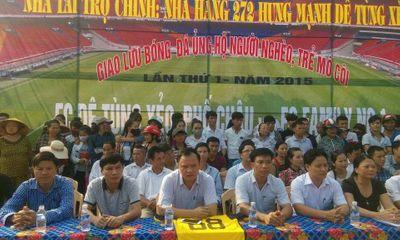 Nhiều tuyển thủ Quốc gia đồng hành cùng báo ĐSPL vì người nghèo
