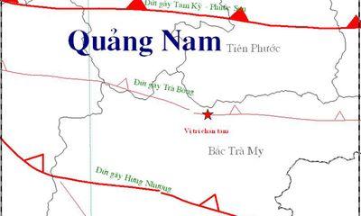 Lại động đất ở Sông Tranh 2