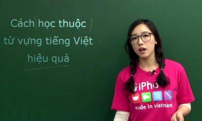 Cô giáo Hàn Quốc 9X xinh đẹp dạy tiếng Việt