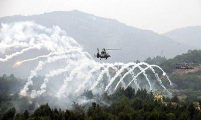 Không quân Lục quân Trung Quốc tập trận Xung kích 2013
