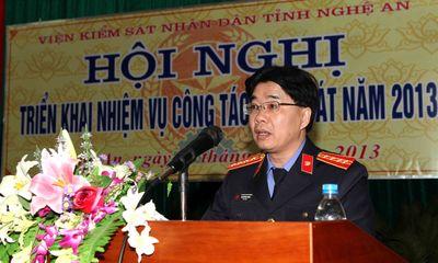 Viện trưởng VKSND tỉnh Nghệ An làm trưởng Ban Nội chính