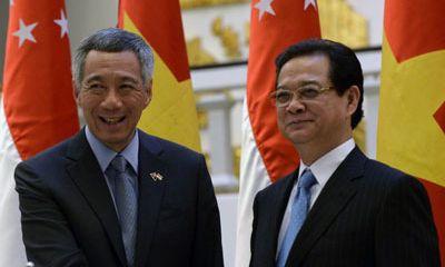 Việt Nam - Singapore nâng cấp quan hệ thành Đối tác chiến lược