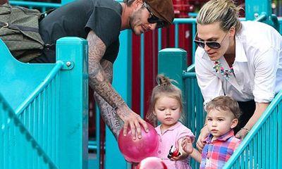 Con gái David Beckham thích đồ chơi con trai