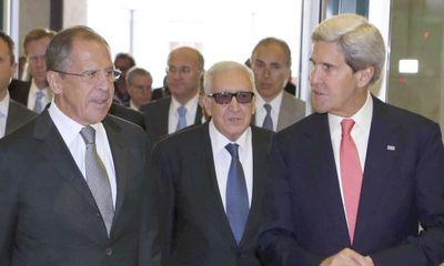 Nga và Mỹ đạt được thỏa thuận về vũ khí hóa học Syria