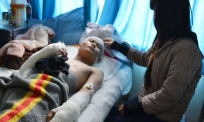 Vụ 'sinh viên bị chém dã man': Chuyển nạn nhân đi TP.HCM