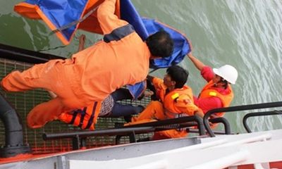 Tàu cá VN bị đâm, 8 người chết và mất tích