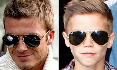 Romeo Beckham, bản sao hoàn hảo của bố Becks