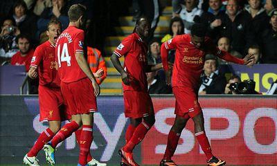 Swansea 2 - 2 Liverpool: The Kop trở lại ngôi đầu