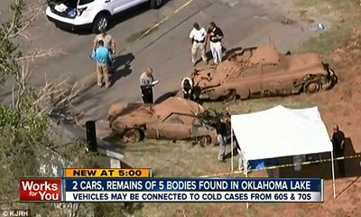 Phát hiện 5 thi thể trong chiếc ô tô bị chìm sau 40 năm