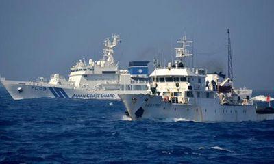 Hai tàu Trung Quốc lại tiến vào vùng biển tranh chấp với Nhật