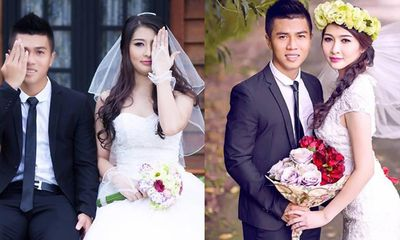 Ảnh cưới lãng mạn của ngôi sao Hoàng Anh Gia Lai
