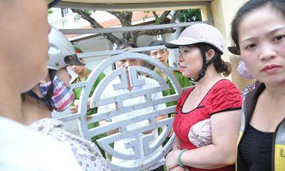 Vụ cháy TTTM Hải Dương: Phó chánh văn phòng tỉnh nhận đơn qua khe cửa