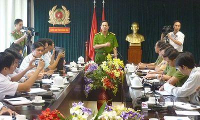 Công an tỉnh Đồng Nai tổ chức họp báo vụ nổ súng ở Suối Tre