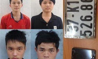 Tóm gọn băng cướp học sinh gây sửng sốt với 20 vụ cướp chấn động xứ Nghệ