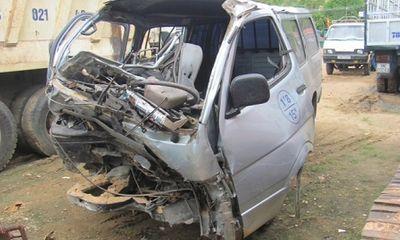 Phú Yên: Xe chở gỗ tự gây tai nạn, 2 người chết ngay tại chỗ (trùng bài)
