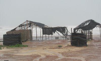 Quảng Bình: Hậu quả bão số 10 để lại rất nặng nề