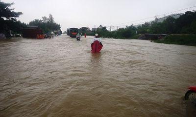 Thanh Hóa: Mưa lớn sau bão làm vỡ đập gây lũ trên diện rộng