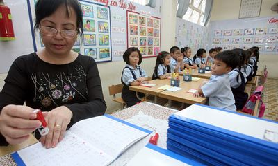 Điểm sáng giáo dục: Đánh giá học sinh tiểu học bằng ngôi sao