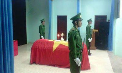 Điện Biên: Một chiến sĩ biên phòng hy sinh khi đánh án ma túy