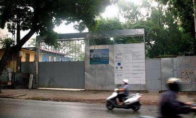 Hà Nội chấm dứt dự án xây khách sạn trong công viên Thống Nhất