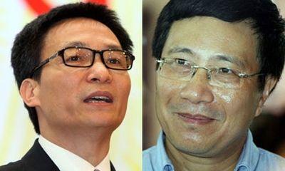 Đề xuất Quốc hội phê chuẩn hai Phó Thủ tướng mới