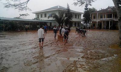 Hương Sơn – Hà Tĩnh: Khắc phục hậu quả sau lũ