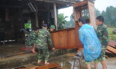 BĐBP Hà Tĩnh: Giúp dân khắc phục hậu quả lũ quét