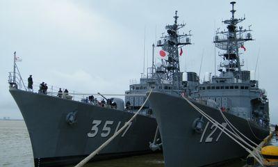 Tàu chiến Nhật Bản ghé thăm Đà Nẵng