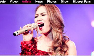 """Mỹ Tâm """"vượt mặt"""" các đại diện Đông Nam Á khác tại EMA 2013"""
