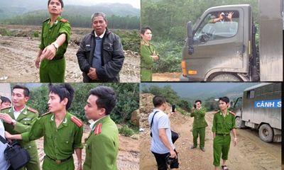 Thoá mạ phóng viên, 3 thiếu uý công an bị tạm đình chỉ