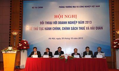 Bộ Tài chính đối thoại với doanh nghiệp về thuế, hải quan