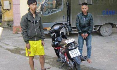 Hà Tĩnh: Khởi tố 2 tên cướp tuổi teen táo tợn