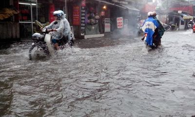 Hà Nội có thể bị ngập lụt khi bão số 14 tới sẽ gây mưa lớn