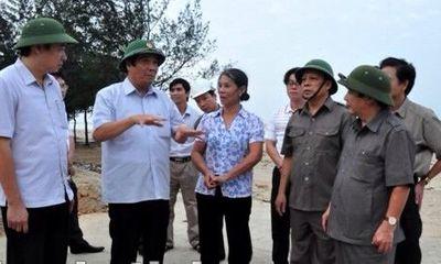 Hà Tĩnh thực hiện công tác chỉ đạo ứng phó với siêu bão Haiyan