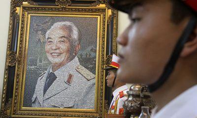 Hà Nội chưa tìm được đường xứng tầm mang tên Đại tướng