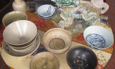 Hà Tĩnh: Phát hiện một số bộ sưu tập cổ vật quý hiếm