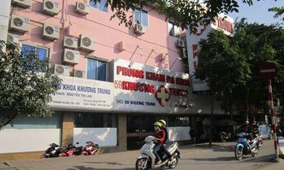 """""""Đột nhập"""" phòng khám Đa khoa 59 Khương Trung (Hà Nội)"""