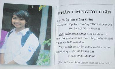 Nữ sinh Hà Nội mất tích nghi do kẻ lạ bắt cóc
