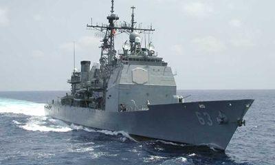 Tàu chiến Mỹ và Trung Quốc suýt va chạm ở Biển Đông