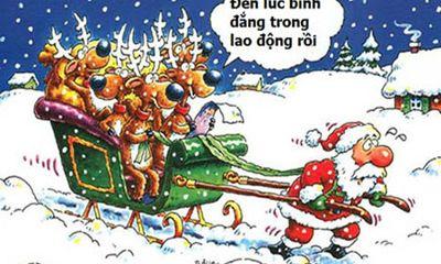 Facebook ngập tràn ảnh chế ông già Noel