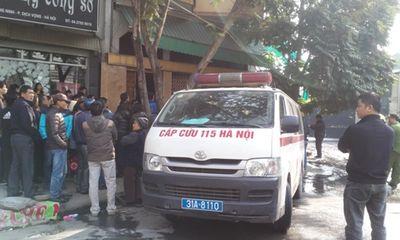 Hà Nội: Cháy nhà 4 tầng, 1 cụ già bại liệt chết thảm