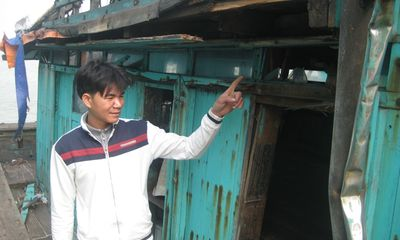 Thanh Hóa: Tàu lạ liên tiếp tấn công, ngư dân tàu cá bị thương