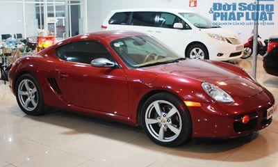 Porsche Cayman màu độc hiếm có tại Hà Nội