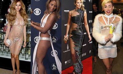 Sao Hollywood và những chiếc váy làm