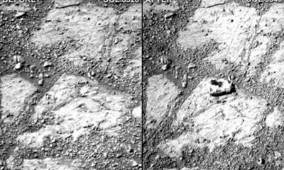 """Hòn đá """"ma"""" trên sao Hỏa làm NASA bối rối"""