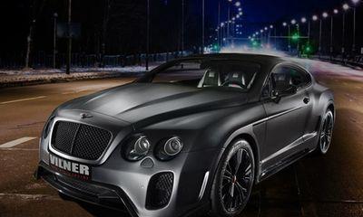 Bentley Continental GT phiên bản kỵ sĩ bóng đêm